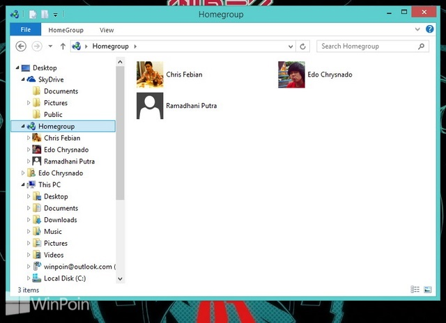Cara Membuat Homegroup di Windows 8