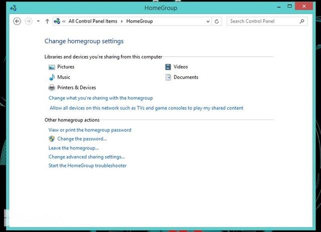 Cara Membuat Homegroup di Windows 8