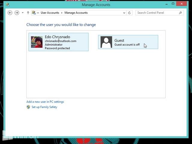 Cara Mengaktifkan Akun Guest di Windows 8 & 8.1