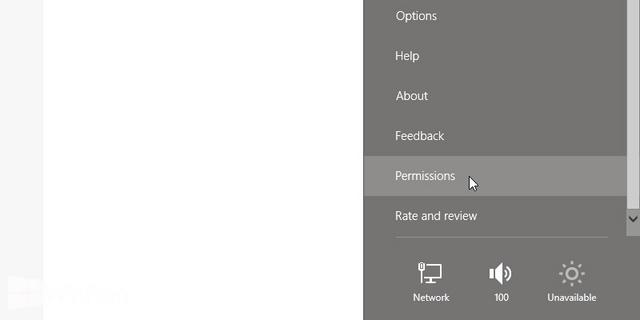 Cara Mengganti Permission Aplikasi Modern di Windows 8 & 8.1