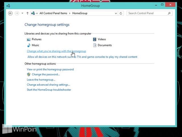 Cara Mengganti Pengaturan Sharing HomeGroup di Windows 8 dan Windows 8.1