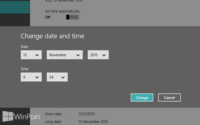 Cara Mengganti Tanggal dan Jam di Windows 8.1