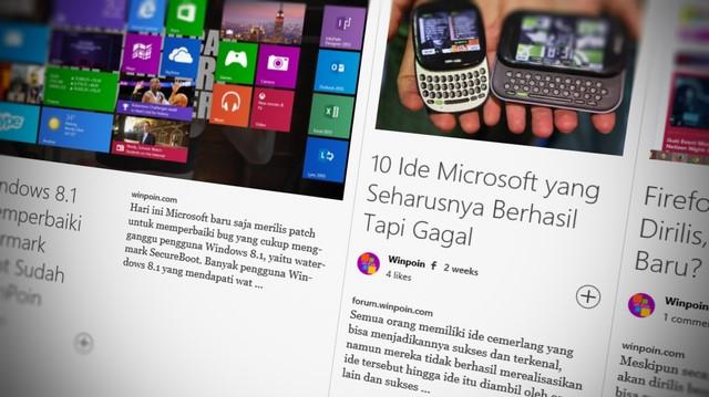 Aplikasi Flipboard untuk Windows 8.1 Sudah Dirilis