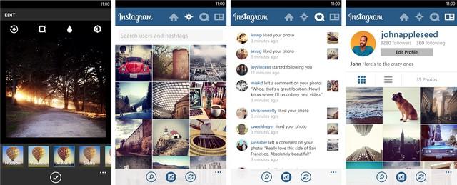Akhirnya Aplikasi Instagram untuk Windows Phone Dirilis Juga