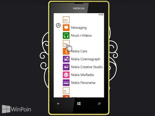 Cara Melihat Daftar Aplikasi di Windows Phone 8