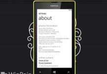Cara Melihat Versi Windows Phone yang Kamu Miliki