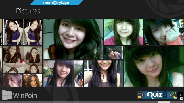 Review Aplikasi MemoryLage Windows 8: Foto Viewer dengan Tampilan Kolase