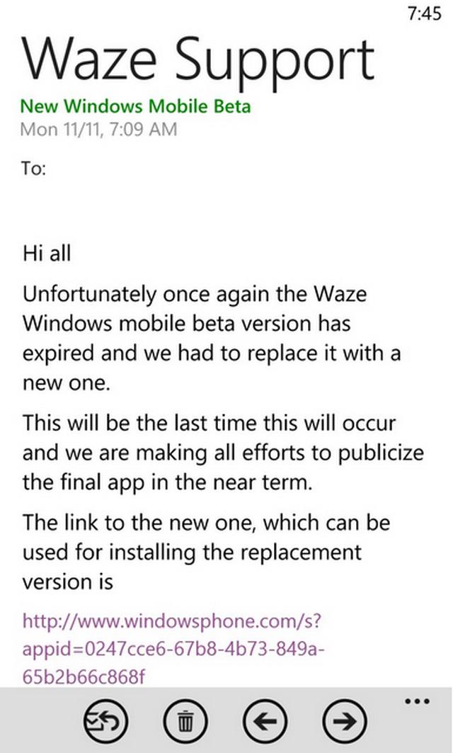 Aplikasi Waze untuk Windows Phone Akan Segera DirilisAplikasi Waze untuk Windows Phone Akan Segera Dirilis