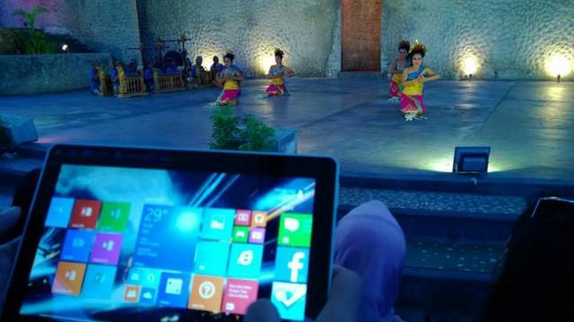 Serunya Windows On Location di Bali