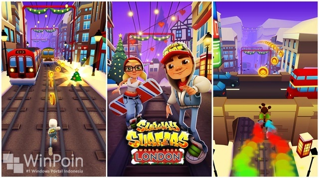 Game Subway Surfers Kini Hadir di Windows Phone 8