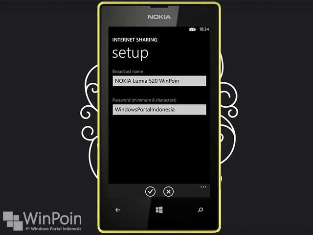 Cara Mengubah Nokia Lumia 520 Menjadi Wi-Fi Hotspot