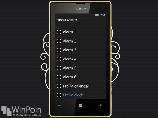 Cara Mengatur Alarm di Windows Phone 8