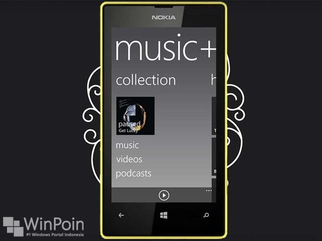 Cara Menggunakan Aplikasi Music+Video Hub di Windows Phone 8
