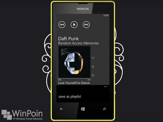 Cara Menggunakan Aplikasi Music+Video Hub di Windows Phone 8