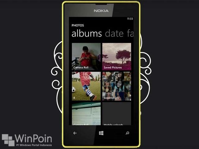 Cara Menggunakan Aplikasi Photos Hub di Windows Phone 8