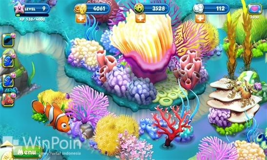 Ada Game Terbaru Lagi dari Disney, Nemo's Reef untuk Windows Phone 8