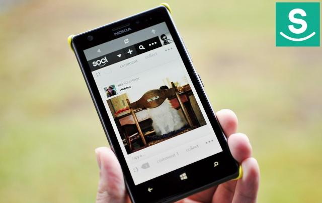 Aplikasi Socl Kini Bisa Digunakan untuk Windows Phone dengan RAM Kecil