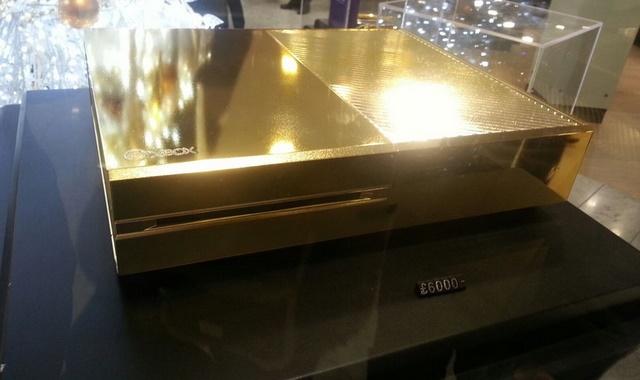 Xbox One dengan Balutan Emas Dijual Seharga Rp.99 Juta