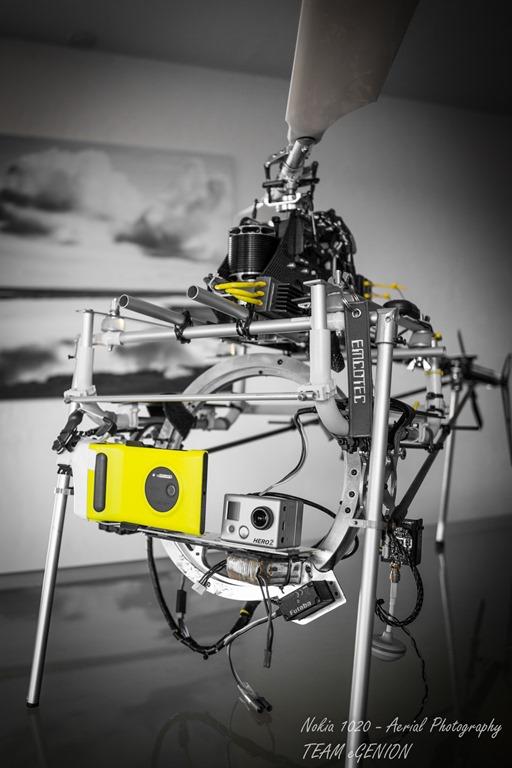 Lumia 1020 Diterbangkan dengan Helicopter untuk Unjuk Kebolehan Kamera
