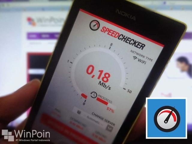 SpeedChecker: Aplikasi untuk Mengecek Kecepatan Internet Windows Phone 8