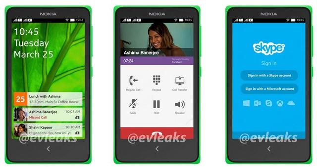 Inilah Gambar Android UI dari Nokia Normandy