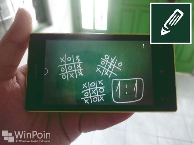 Melatih Kreatifitas di Windows Phone dengan Aplikasi Chalkboard