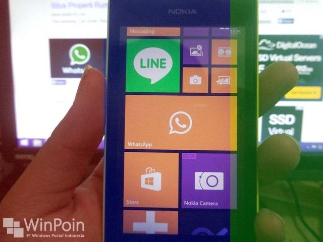 Aplikasi WhatsApp BETA Windows Phone Bisa Custom Background Chat