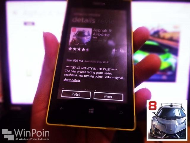 Asphalt 8: Airborne Sekarang Gratis untuk Windows Phone dan Windows 8