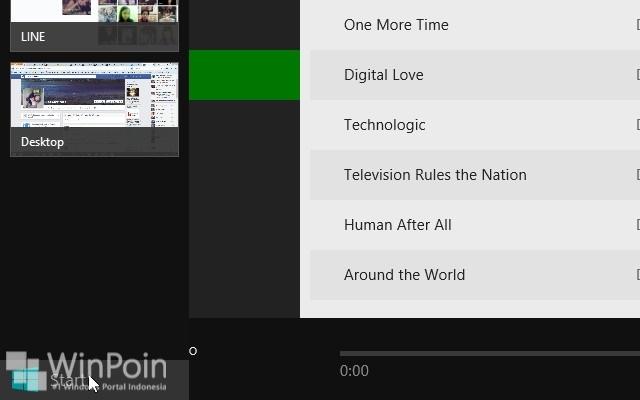 Cara Berpindah Aplikasi Modern di Windows 8.1