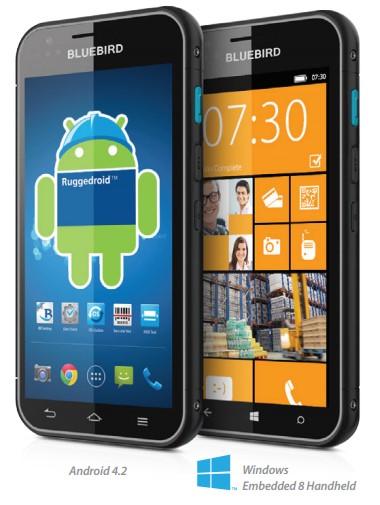 Bluebird: Smartphone yang Bisa Menjalankan Android dan Varian Windows Phone