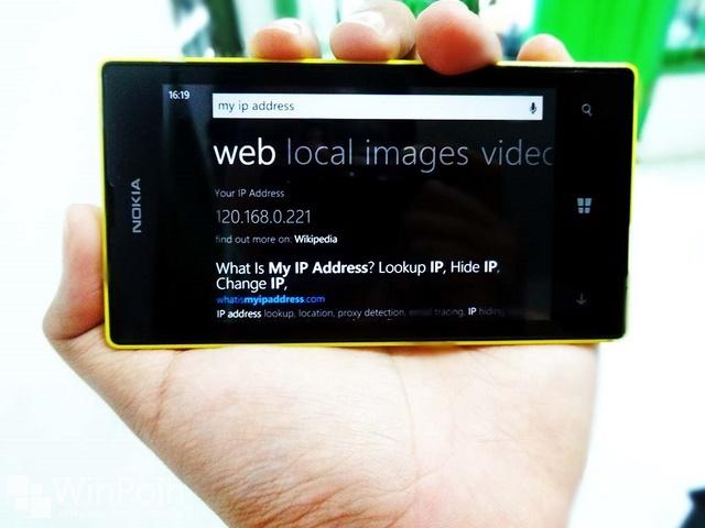Cara Melihat IP Address di Windows Phone 8