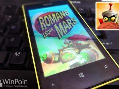 Game Romans From Mars Tersedia untuk Windows Phone 8