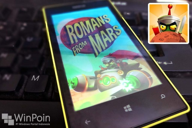 Game Romans From Mars Tersedia untuk Windows Phone 8