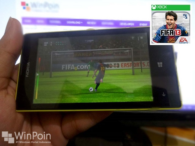 FIFA 13 Sekarang Sudah Bisa Dimainkan di Windows Phone