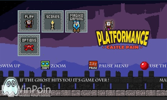 Dapatkan Game Gratis PLATFORMANCE: Castle Pain Windows Phone