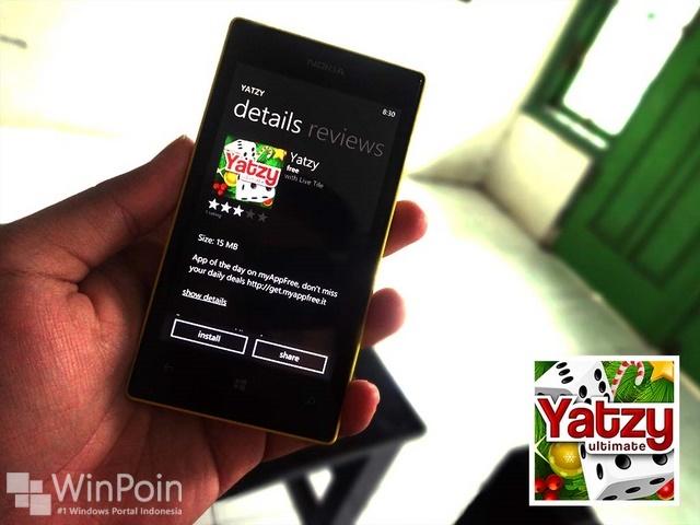 Ayo Download Game Yatzy untuk Windows Phone Mumpung Gratis!
