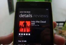 Sekarang Game Into the Dead Hadir di Windows Phone