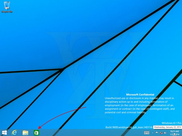 Wow..Modern Apps Bisa di-Pin di Taskbar Windows 8.1 Update 1!