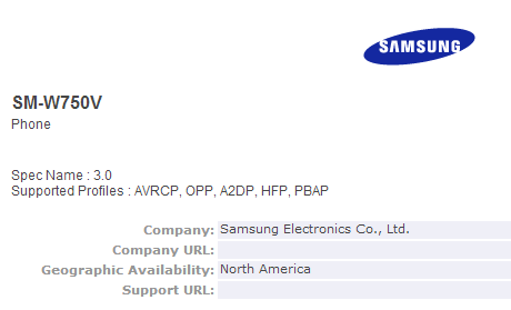 Rumor: Samsung SM-W750V, Device dengan Windows Phone High-End