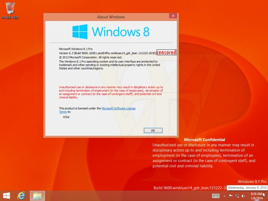 Muncul Screenshot dari Windows 8.1 Spring 2014 Update