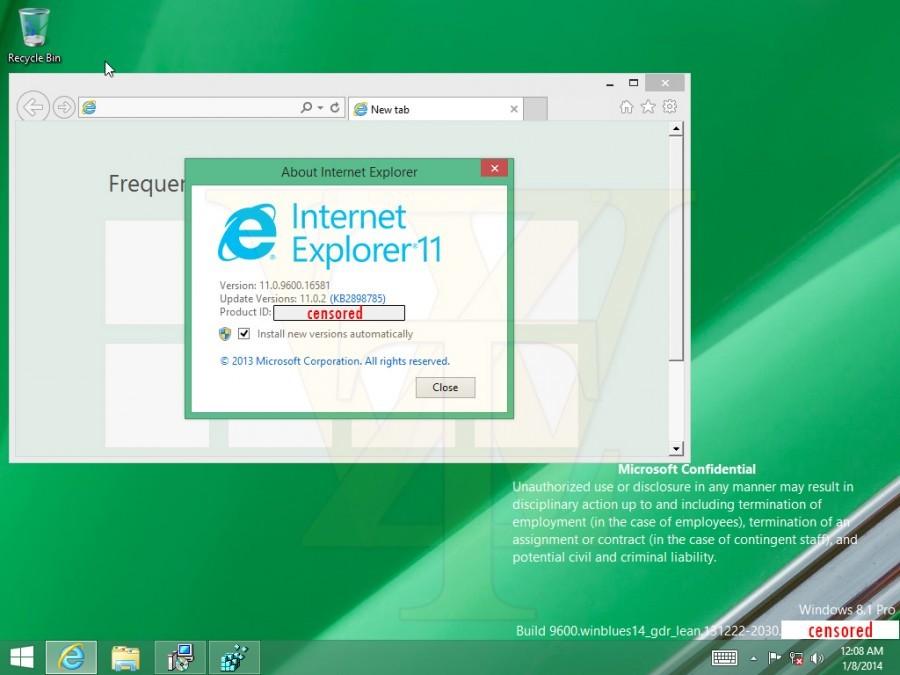 Muncul Screenshot dari Windows 8.1 Spring 2014 Update