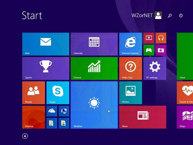 Ada Tombol Shutdown dan Search di Start Screen Windows 8.1 Update 1