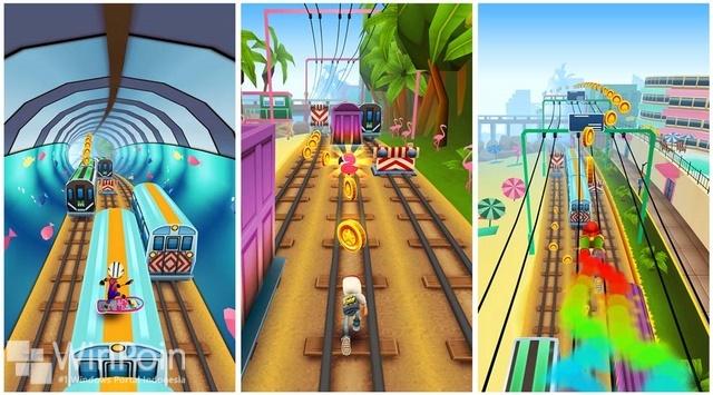 Ada Update Subway Surfers di Windows Phone, World Tour di Miami!