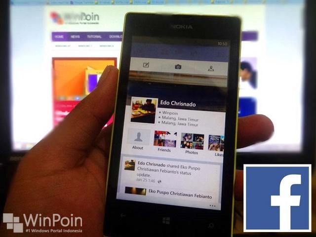 Aplikasi Facebook BETA Mendapatkan Update Lagi