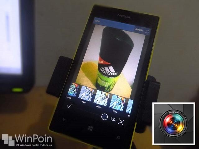 Fhotoroom untuk Windows Phone 8 Mendapat Update