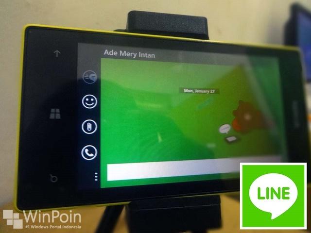 Update LINE di Windows Phone Menerima Banyak Perubahan