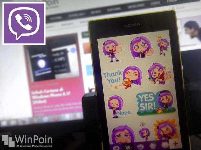 Update Viber Windows Phone, Dapatkan Sticker, Notfication Sound dan Banyak Lagi!