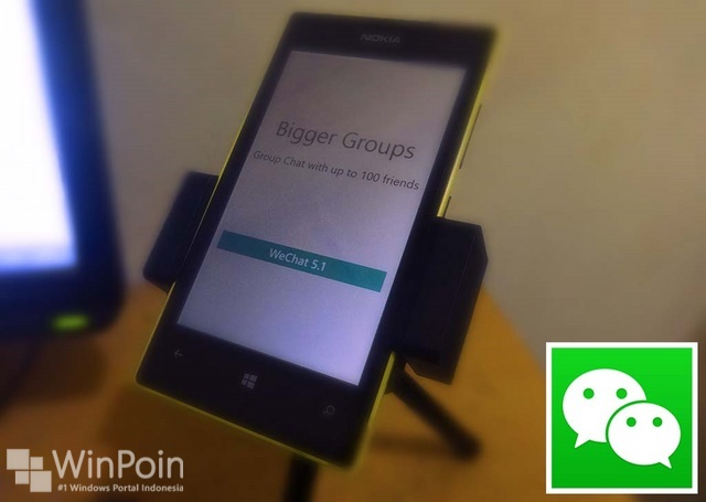 Sekarang User Group di WeChat Windows Phone Bisa Diperbanyak