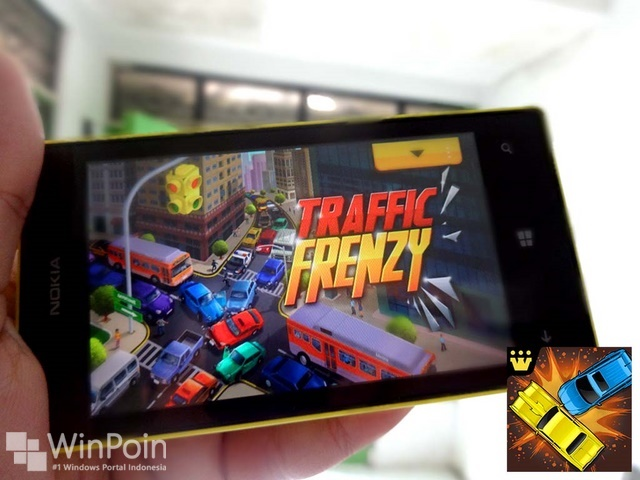 Huyu..Game Traffic Frenzy Bisa Dimainkan di Windows Phone 8