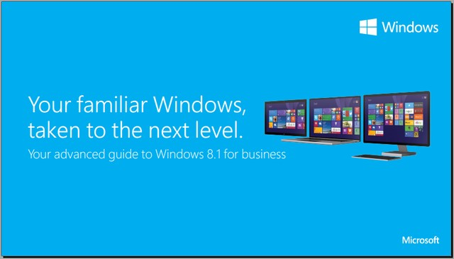 Microsoft Merilis Panduan Windows 8.1 dalam Bentuk Ebook dan Video [Download]